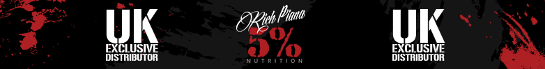5% Nutrition Apparel Clearance Products