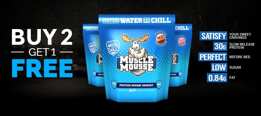 Muscle Mousse Buy 2 Get 1 Free