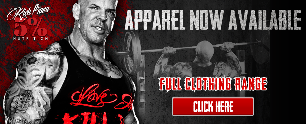 5% Nutrition Apparel Now Available