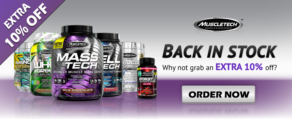 Muscletech Promos and available