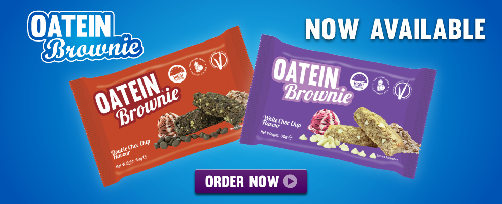 OATEIN BROWNIES AVAILABLE