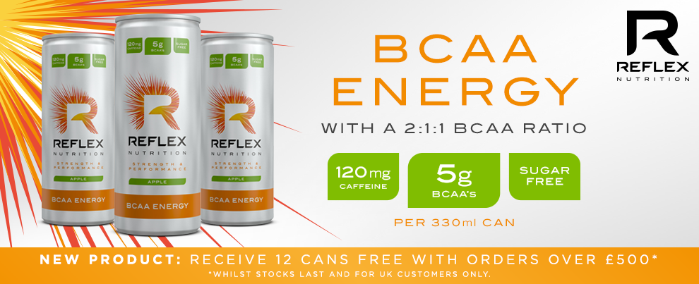 BCAA Energy Now available