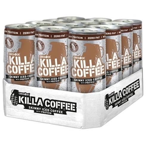 Grenade Killa Coffee Skinny Iced Coffee 12 X 250 ml