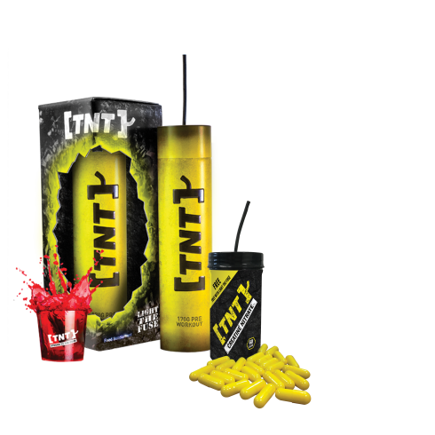 TNT Light the Fuse Preworkout 170g  + FREE Creatine 60 caps