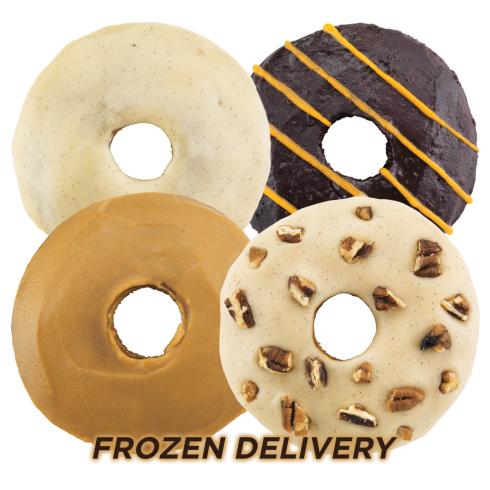 Jim Buddy's ** FROZEN** Donuts 6 x 55g