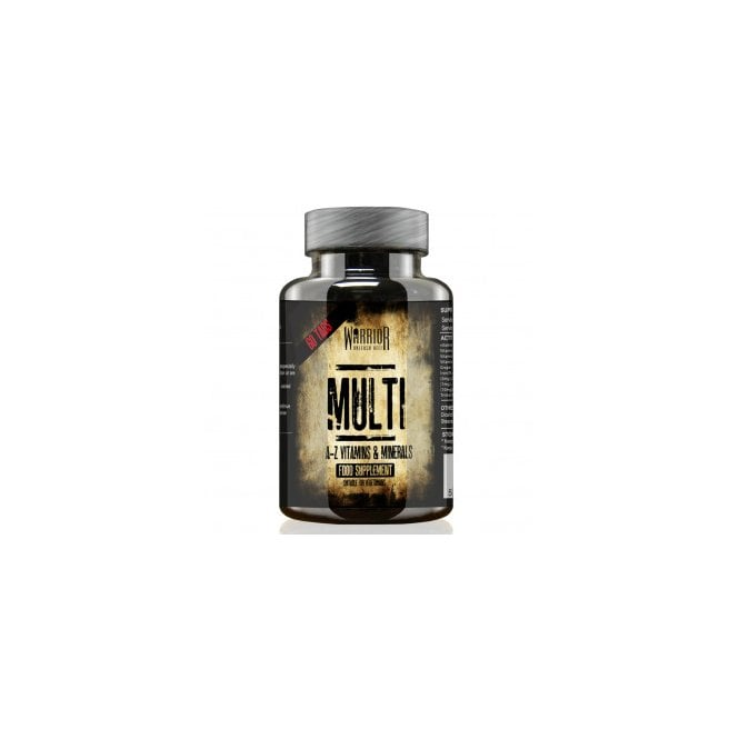 Warrior Multi Vitamin  60 Tabs