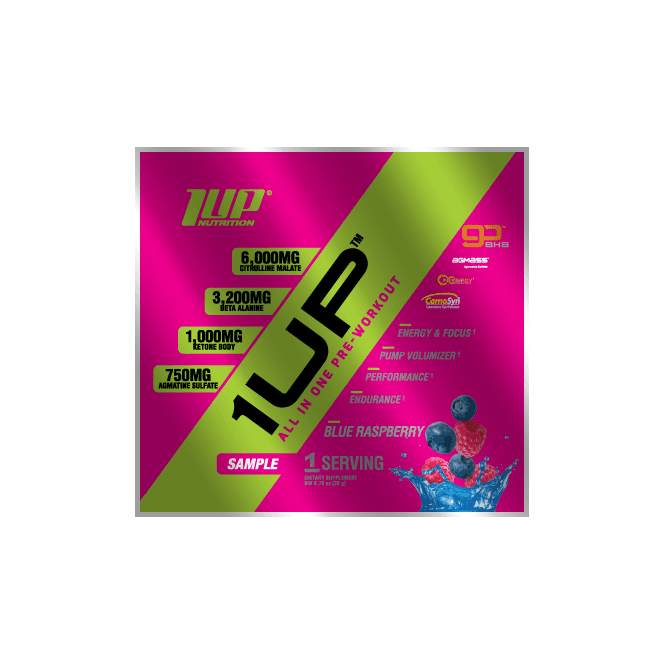 1 Up Nutrition 1Up For Women Pre-Workout Single Sachet 20G