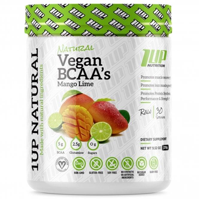 1 Up Nutrition 1UP Natural Vegan BCAA's 270g