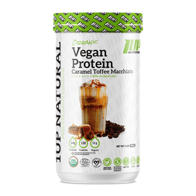 1 Up Nutrition 1UP Natural Vegan Protein 900g