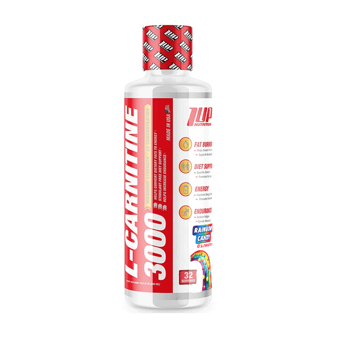 1 Up Nutrition Liquid L-Carnitine 3000 32 Serving 480Ml