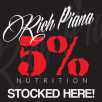 5% Nutrition 5% Window Sticker 20cm x 20cm