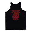 5% Nutrition Apparel 1DayUMay Men's Tank Top Black/Red
