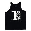 5% Nutrition Apparel 1DayUMay Men's Tank Top Black/White