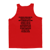 5% Nutrition Apparel 1DayUMay Men's Tank Top Red/Black