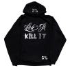 5% Nutrition Apparel Love It Kill It / 5%Er / 5% For Life Hoodie Black/Chrome