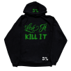 5% Nutrition Apparel Love It Kill It / 5%Er / 5% For Life Hoodie Black/Green