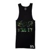 5% Nutrition Apparel Love It Kill It / 5% Men's Ribbed Tank Top Black/Camo