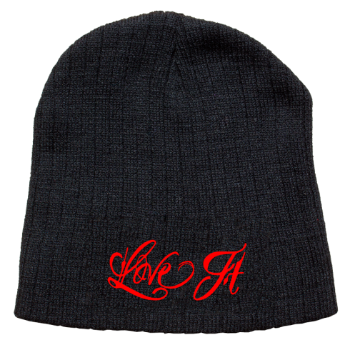 5% Nutrition Apparel Love It Kill It Beanie Black/Red