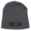 Love It Kill It Beanie Grey/Black