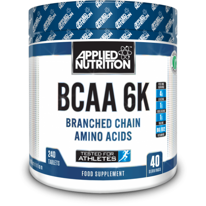 Applied Nutrition BCAA 6K 4:1:1 240 Tabs
