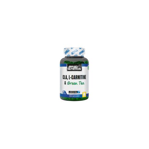 Applied Nutrition Cla, L-Carnitine & Green Tea 100Gels