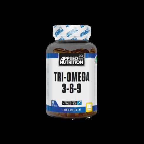 Applied Nutrition Tri-Omega 3-6-9 100Gels