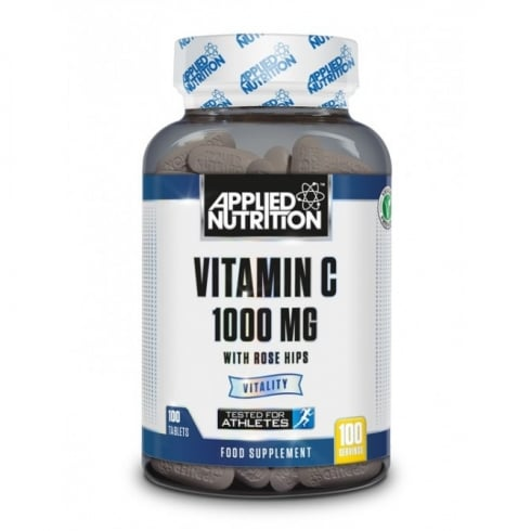Applied Nutrition Vitamin C & Rose Hips 100 Tabs
