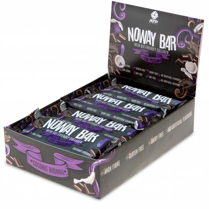 ATP Science Noway Protein Bars 12x65g (SHORT DATED)