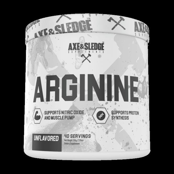 Axe & Sledge Supplements Arginine 40 Servings