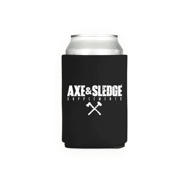 Axe & Sledge Supplements Axe & Sledge Can Koozie One Size