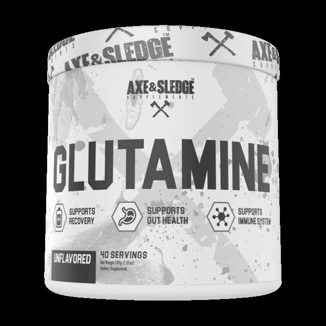 Axe & Sledge Supplements Glutamine 40 Servings