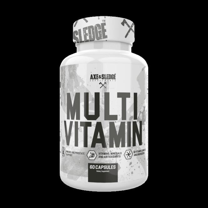 Axe & Sledge Supplements Multivitamin 60 Caps