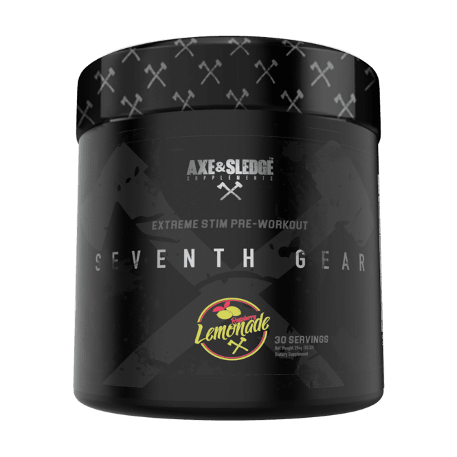 Axe & Sledge Supplements Seventh Gear Extreme Pre-Workout 294g