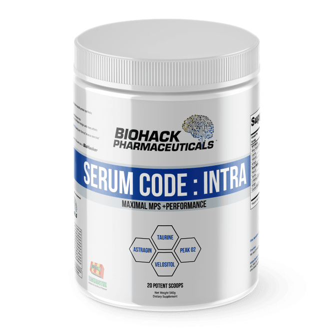 BioHack Pharmaceuticals Serum Code: Intra 540g