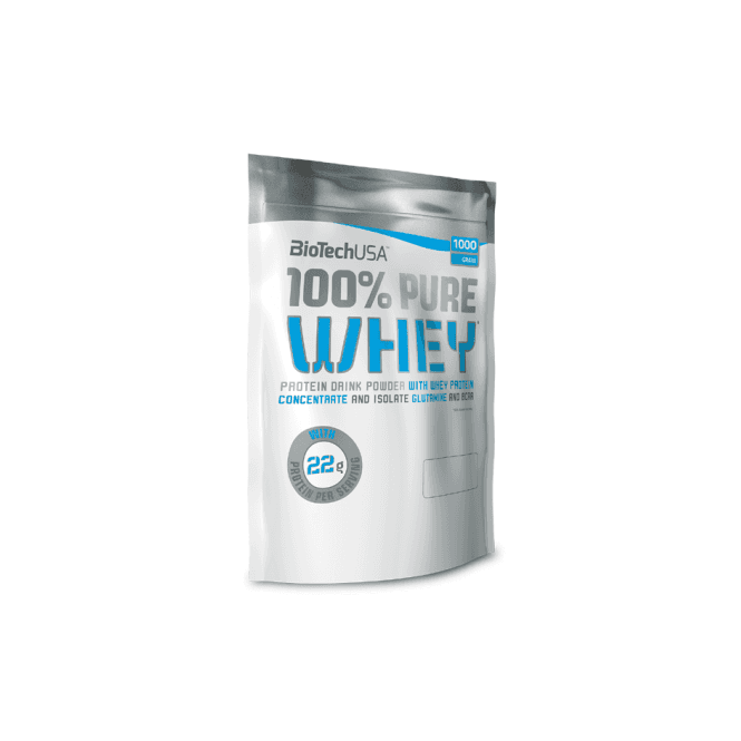 Biotech USA 100% Pure Whey 1000G Bag