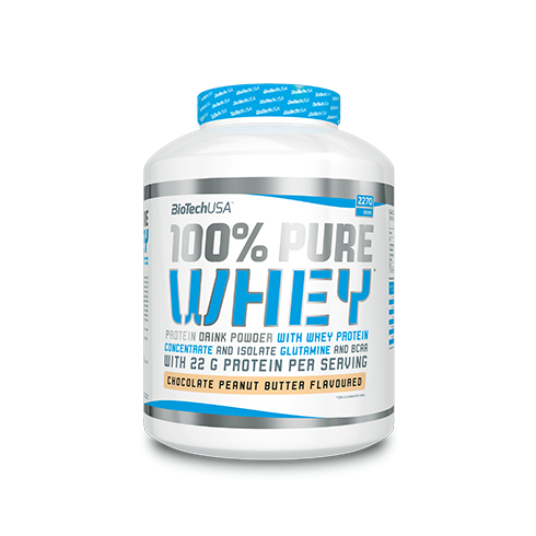 Biotech USA 100% Pure Whey 2270G Jar
