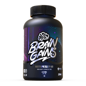Brain Gains Black Edition Sleep Aid 120 Caps