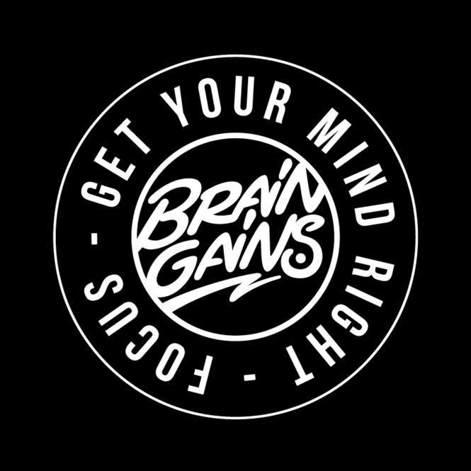 Brain Gains Logo Coaster One Size
