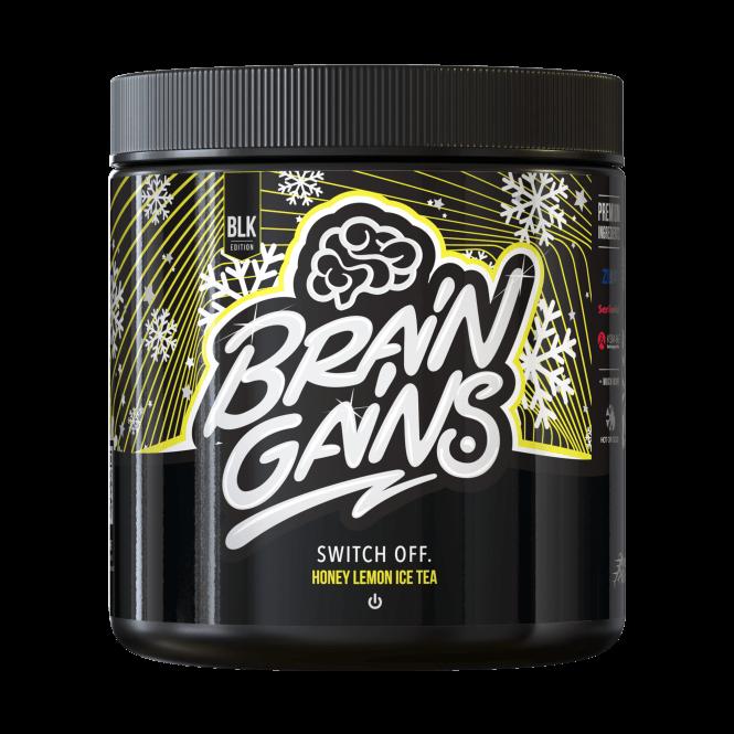 Brain Gains Switch Off Black Edition 200g