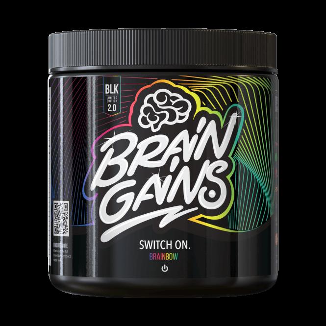 Brain Gains Switch On 2.0 Black Edition 300g