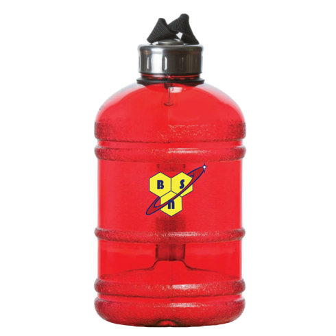 BSN Half Gallon Bottle Red