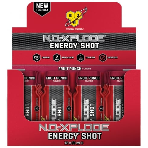 BSN No Xplode Shots 12 x 60ml