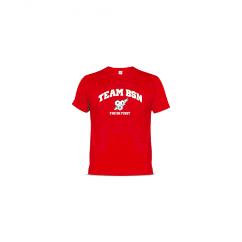 BSN T-Shirt Finish First Red