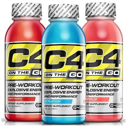 Cellucor C4 On the Go RTD (12x296ml Bottles)