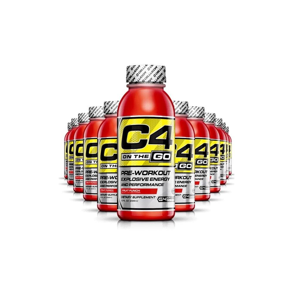 C4 On The Go >> Cellucor C4 On The Go Rtd 12x296ml Bottles