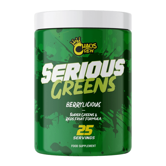 Chaos Crew Serious Greens 25 Servings