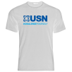 Clearance Usn Challenge Yourself T-Shirt White/Blue