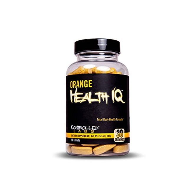Controlled Labs Orange Health IQ 90 Caps