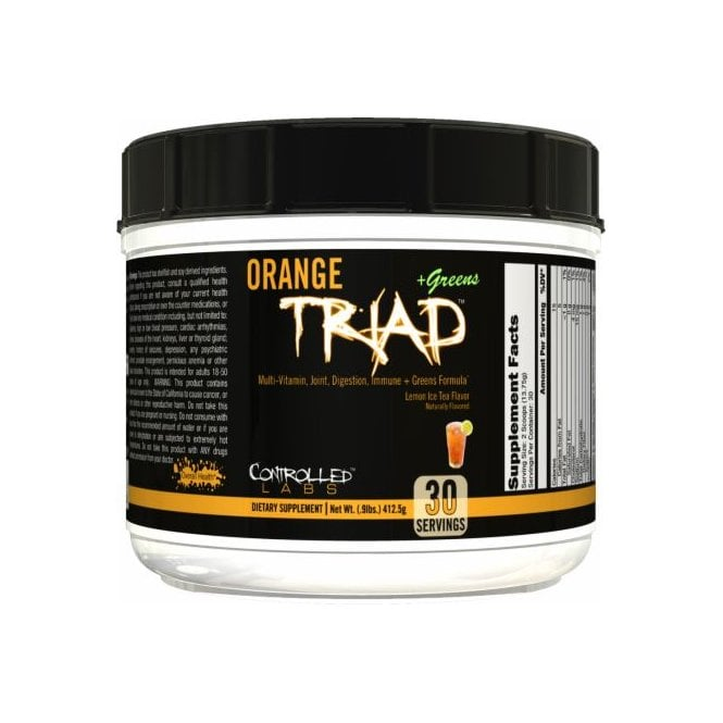 Controlled Labs Orange TRIad + Greens 410g