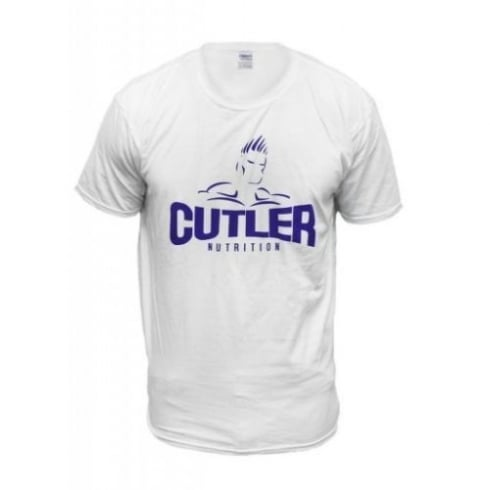 Cutler Nutrition(discontinued) T-Shirt Cutler Nutrition White